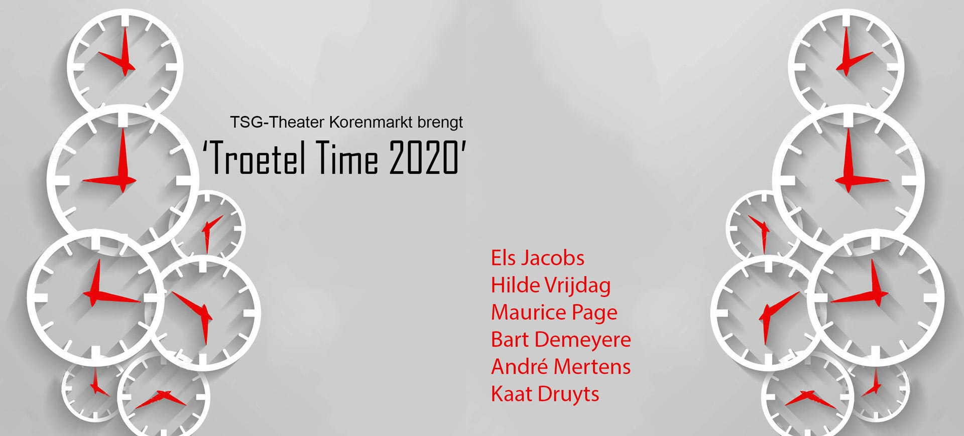 Theater Korenmarkt speelt: